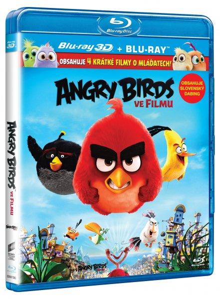 CD Shop - ANGRY BIRDS VE FILMU (3D, 2 DISKY)