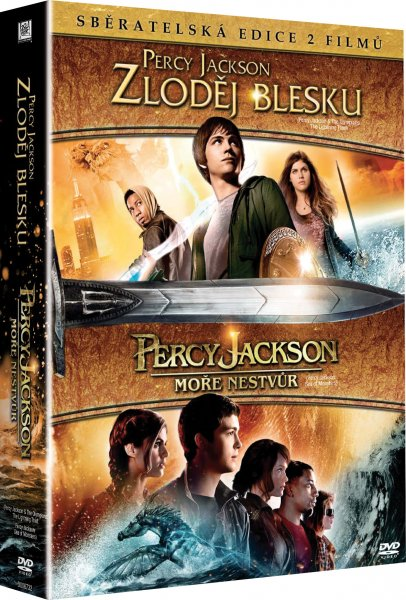 CD Shop - 2 DVD PERCY JACKSON 1+2