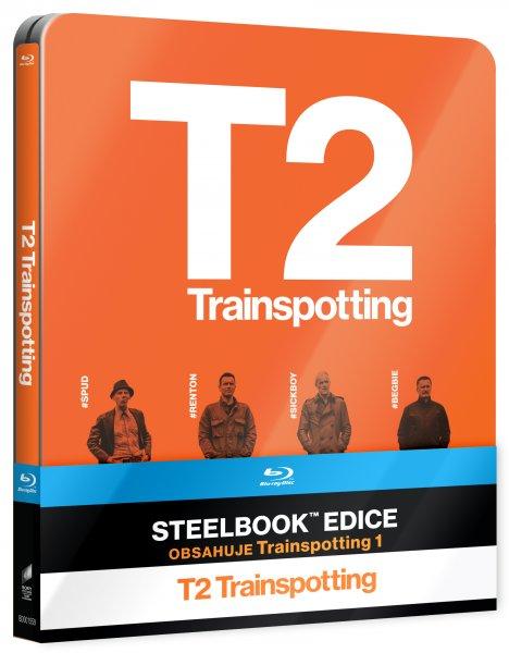 CD Shop - T2 TRAINSPOTTING STEELBOOK (1+2 DíL)