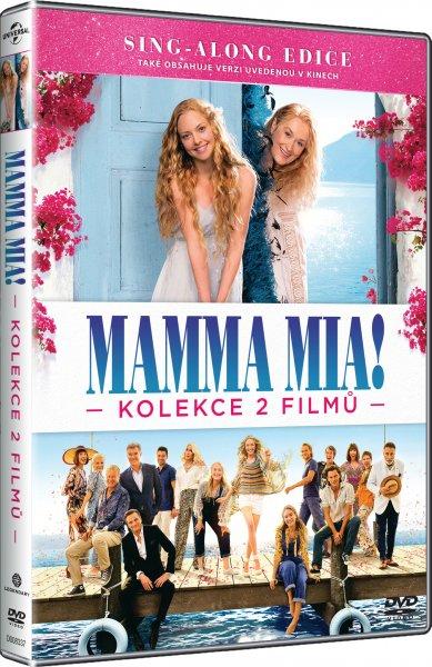 CD Shop - MAMMA MIA!: KOLEKCE 2 FILMů (2DVD)