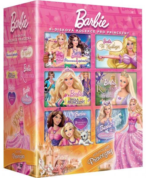 CD Shop - 6 DVD BARBIE PRINCEZNA