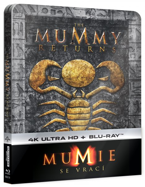 CD Shop - MUMIE SE VRACí  (STEELBOOK, UHD + BD)