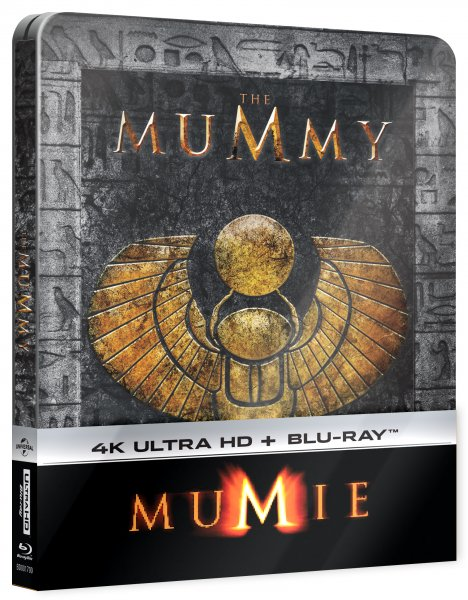 CD Shop - MUMIE (STEELBOOK, UHD + BD)