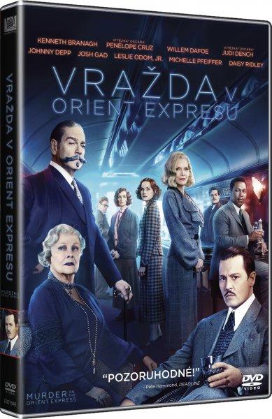CD Shop - FILM VRAZDA V ORIENT EXPRESU (2017) DVD