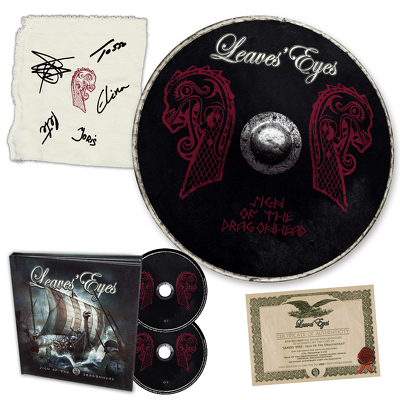 CD Shop - LEAVES EYES SIGN OF THE DRAGON BOX LTD