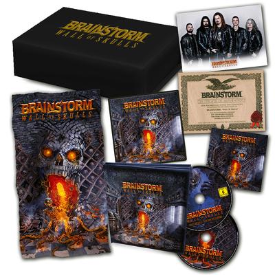 CD Shop - BRAINSTORM WALL OF SKULLS BOX LTD.