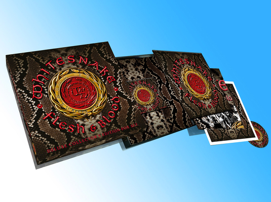 CD Shop - WHITESNAKE FLESH & BLOOD BOX LTD.