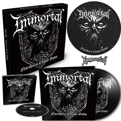 CD Shop - IMMORTAL NORTHERN CHAOS GODS BOX LTD.