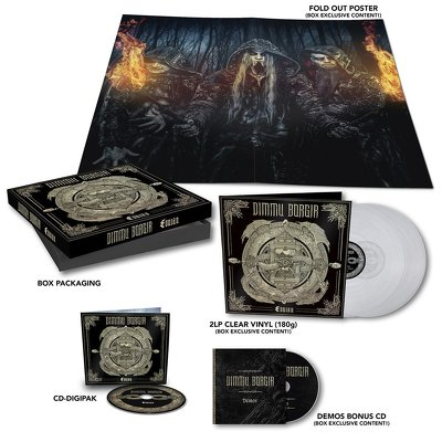 CD Shop - DIMMU BORGIR EONIAN BOX LTD.