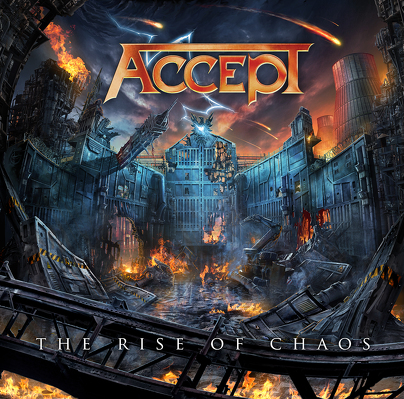 CD Shop - ACCEPT THE RISE OF CHAOS BOX LTD.