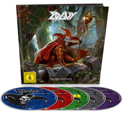 CD Shop - EDGUY (B) MONUMENTS EARBOOK LTD.
