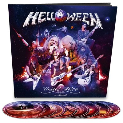CD Shop - HELLOWEEN UNITED ALIVE EARBOOK LTD.