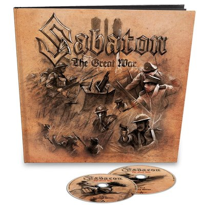 CD Shop - SABATON THE GREAT WAR EARBOOK LTD.
