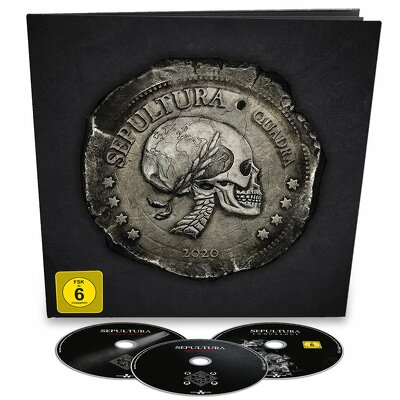 CD Shop - SEPULTURA QUADRA EARBOOK LTD.