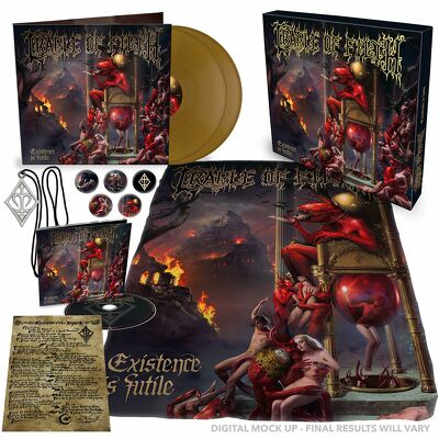 CD Shop - CRADLE OF FILTH EXISTENCE IS FUTILE BO