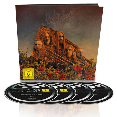 CD Shop - OPETH GARDEN OF THE TITANS EARBOOK LTD