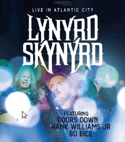 CD Shop - LYNYRD SKYNYRD LIVE IN ATLANTIC CITY