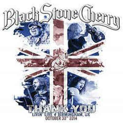 CD Shop - BLACK STONE CHERRY THANK YOU LIVIN LIV