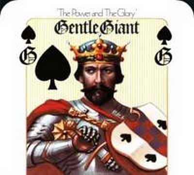CD Shop - GENTLE GIANT THE POWER & THE GLORY