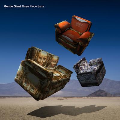 CD Shop - GENTLE GIANT THREE PIECE SUITE