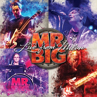CD Shop - MR.BIG LIVE FROM MILAN