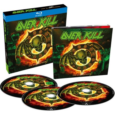 CD Shop - OVERKILL LIVE IN OVERHAUSEN
