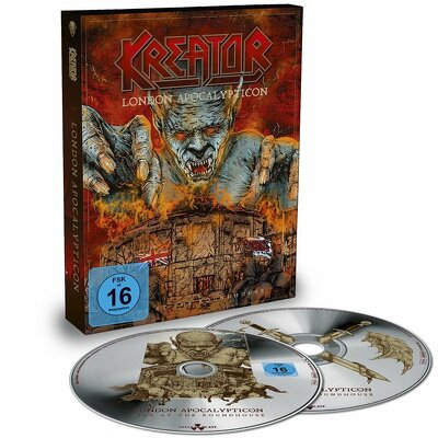 CD Shop - KREATOR LONDON APOCALYPTICON
