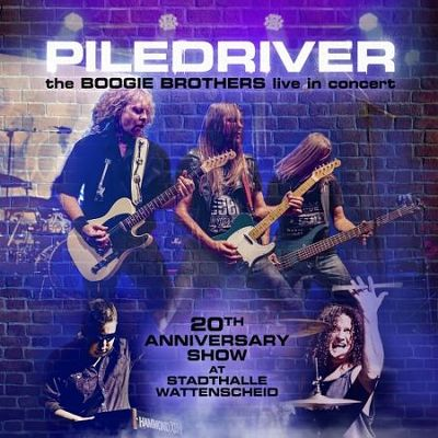 CD Shop - PILEDRIVER THE BOOGIE BROTHERS LIVE IN