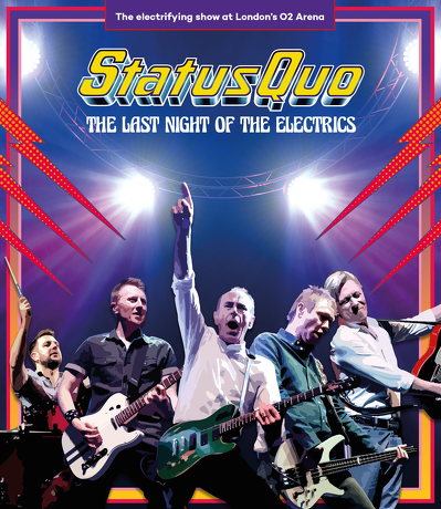 CD Shop - STATUS QUO THE LAST NIGHT OF THE ELECT