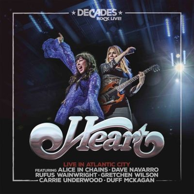 CD Shop - HEART LIVE IN ATLANTIC CITY