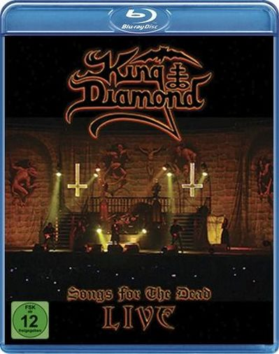 CD Shop - KING DIAMOND SONGS FOR THE DEAD LIVE
