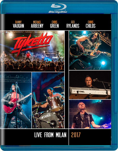 CD Shop - TYKETTO LIVE FROM MILAN 2017