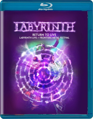 CD Shop - LABYRINTH RETURN TO LIVE