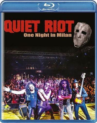 CD Shop - QUIET RIOT ONE NIGHT IN MILAN