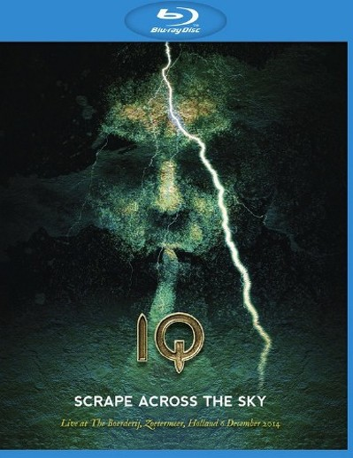 CD Shop - IQ SCRAPE ACROSS THE SKY