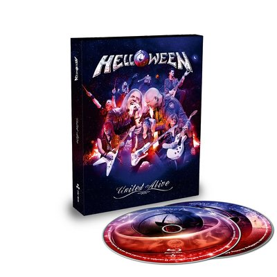 CD Shop - HELLOWEEN UNITED ALIVE
