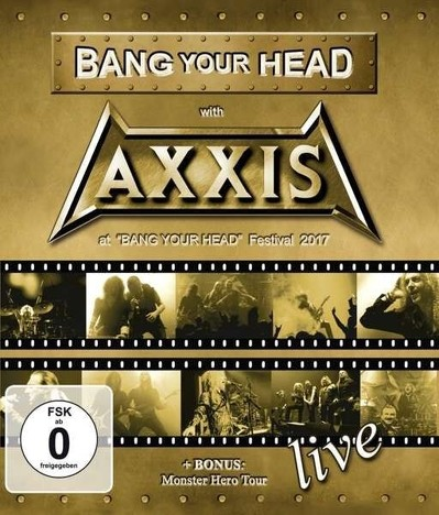 CD Shop - AXXIS BANG YOUR HEAD WITH AXXIS