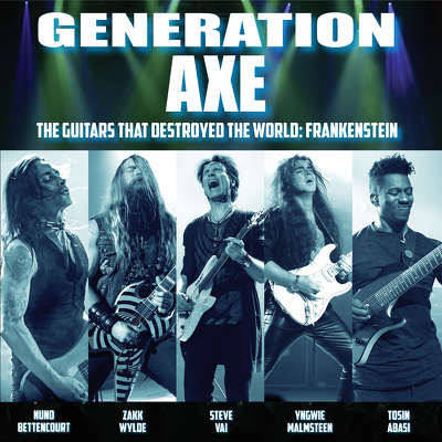 CD Shop - GENERATION AXE THE GUITARS THAT DESTRO