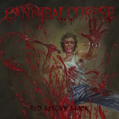 CD Shop - CANNIBAL CORPSE RED BEFORE BLACK