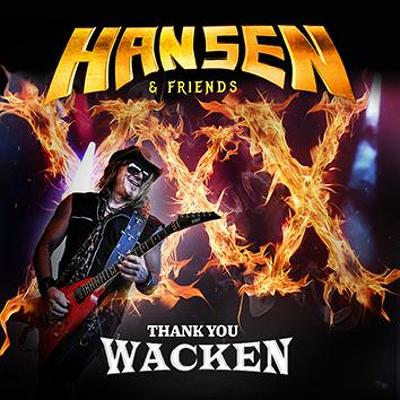 CD Shop - KAI HANSEN THANK YOU WACKEN