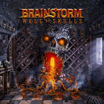 CD Shop - BRAINSTORM WALL OF SKULLS + BRD LTD.