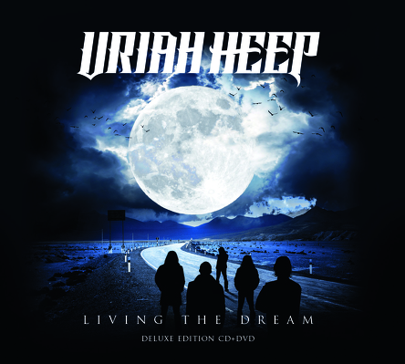 CD Shop - URIAH HEEP LIVING THE DREAM LTD.