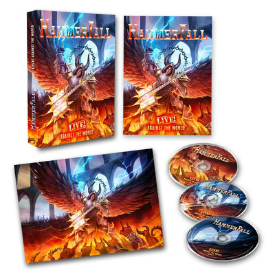 CD Shop - HAMMERFALL LIVE! AGAINST THE WORLD