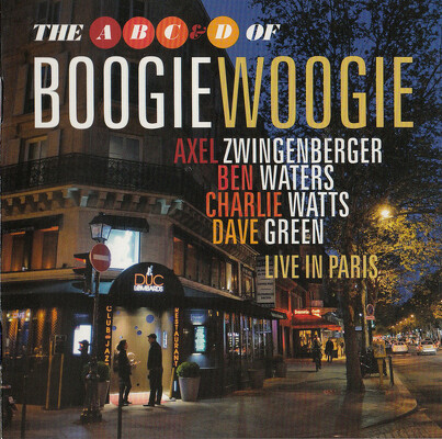 CD Shop - A,B,C & D OF BOOGIE WOOGIE, THE LIVE I
