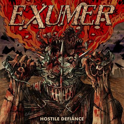 CD Shop - EXUMER HOSTILE DEFIANCE