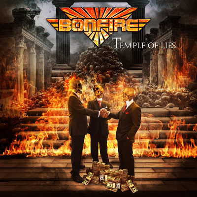 CD Shop - BONFIRE TEMPLE OF LIES LTD.
