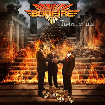 CD Shop - BONFIRE TEMPLE OF LIES LTD.