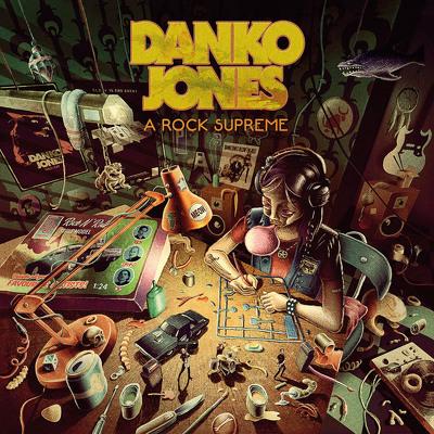 CD Shop - JONES, DANKO A ROCK SUPREME