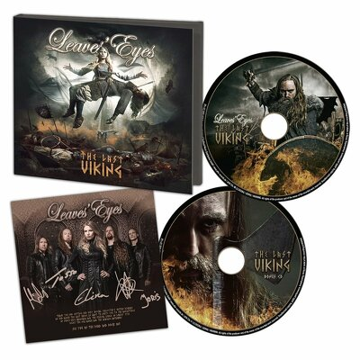 CD Shop - LEAVES EYES THE LAST VIKING COLLECTOR