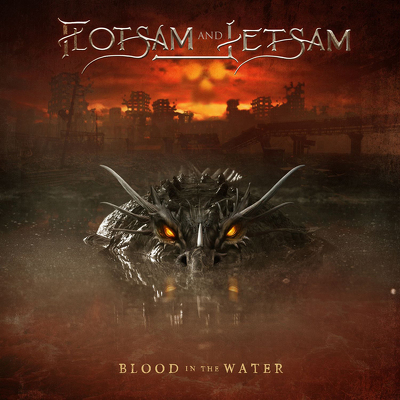 CD Shop - FLOTSAM & JETSAM BLOOD IN THE WATER